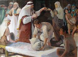 Nicodemus Buying Myrrh and Aloes to Bury Jesus