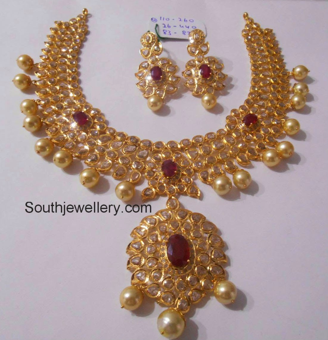 latest pachi necklace designs