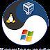 Jogress Desktop Windows dengan GNU/LinuxUbuntu - VirtualBox Seamless Mode