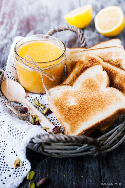 Lemon curd (κρέμα λεμονιού) και Home Cooker