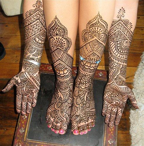 Mehndi For N Wedding : Mehndi style