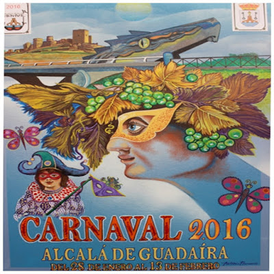 Cartel del Carnaval 2016 de Alcalá de Guadaíra