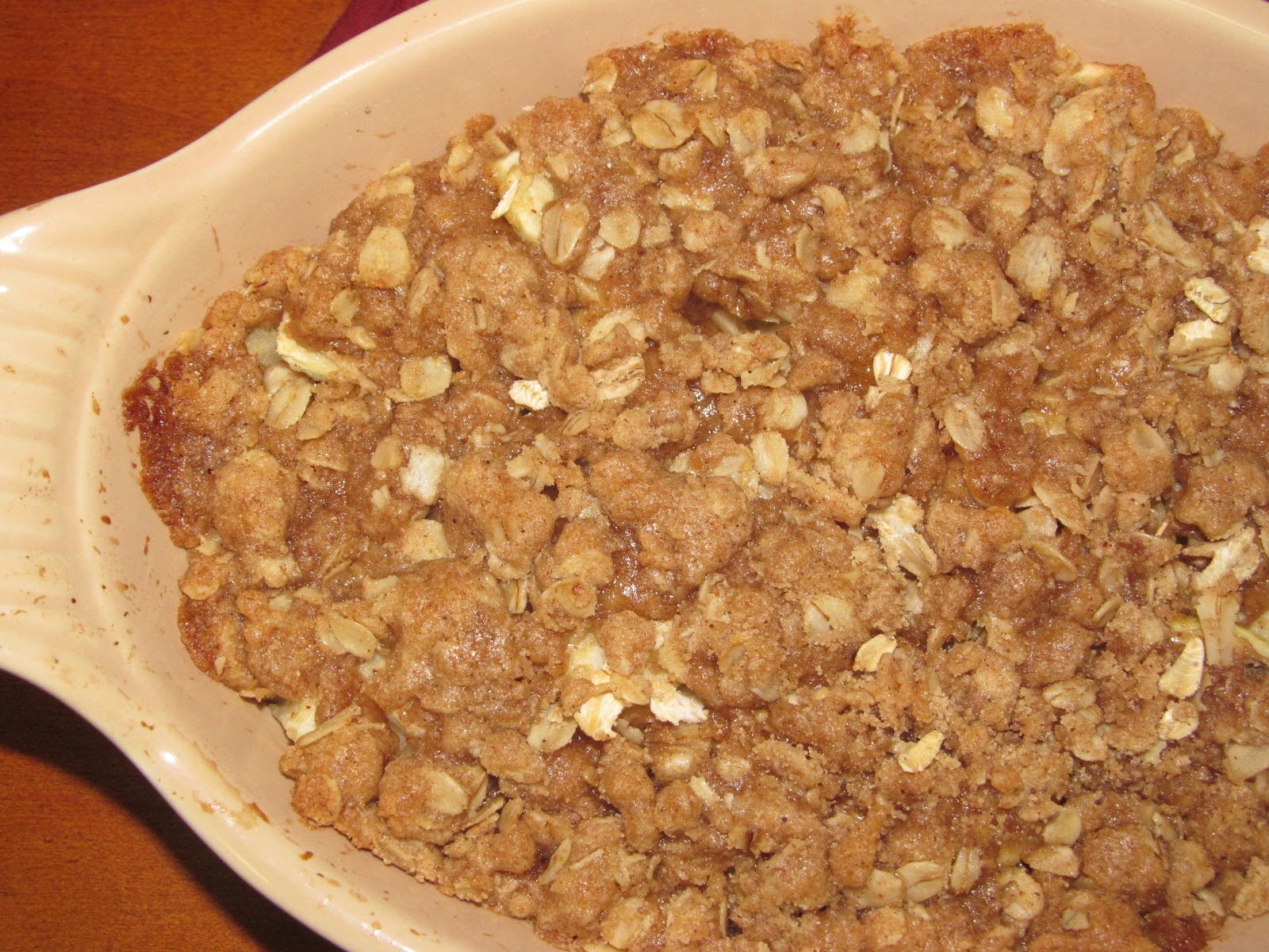 Apple Crisp Recipe — Dishmaps