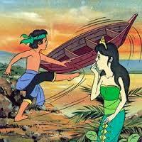 Cerita rakyat Sangkuriang dalam Bahasa Inggris