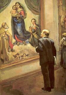 Ocho pinturas sobre Lenin en vísperas del aniversario de su muerte  Lenin+en+la+galeria+de+dresde.+nalbandian
