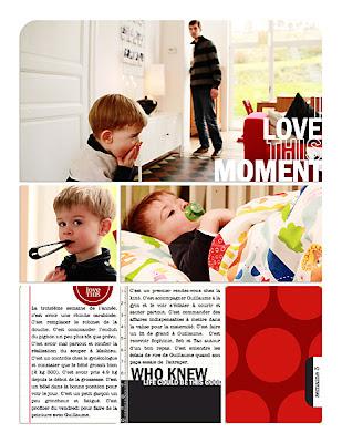 projet 52 semaines semaine 03 page de droite
