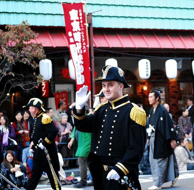Tokyo Historical Festival   November 3, Asakusa, Tokyo