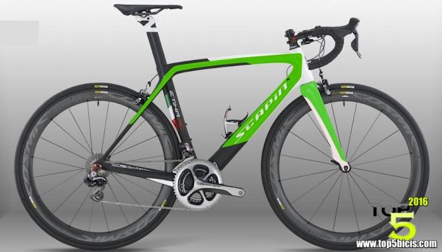SCAPIN ETICA RC, una bici muy compacta, y sobre todo muy rígida