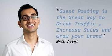 Guest Blogging by Neil Patel