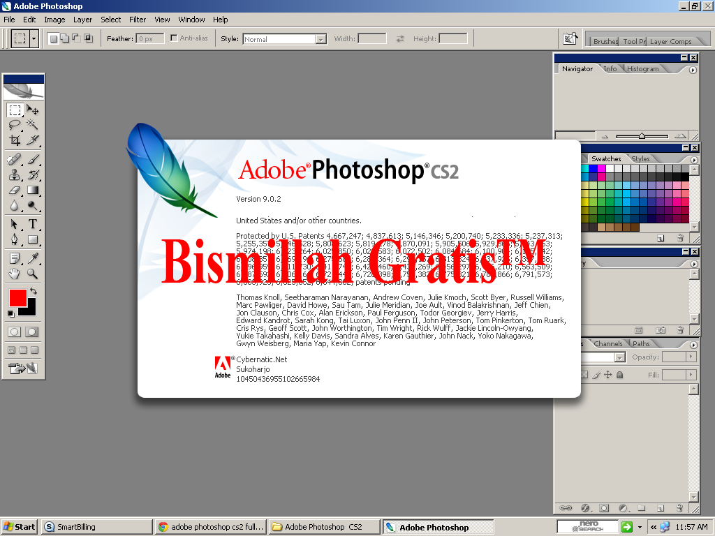 http://bismillah-gratis.blogspot.com/2014/09/BG-adobe-photoshop-cs-2-v-902-full-version-with-keygen.html
