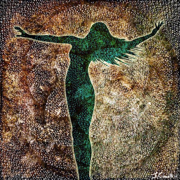 Rise of The Divine Feminine Modern Paintings Canvas Art