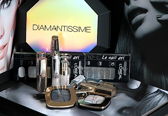 l'oreal diamantissime collection maquillage noël 2012 test avis swatch