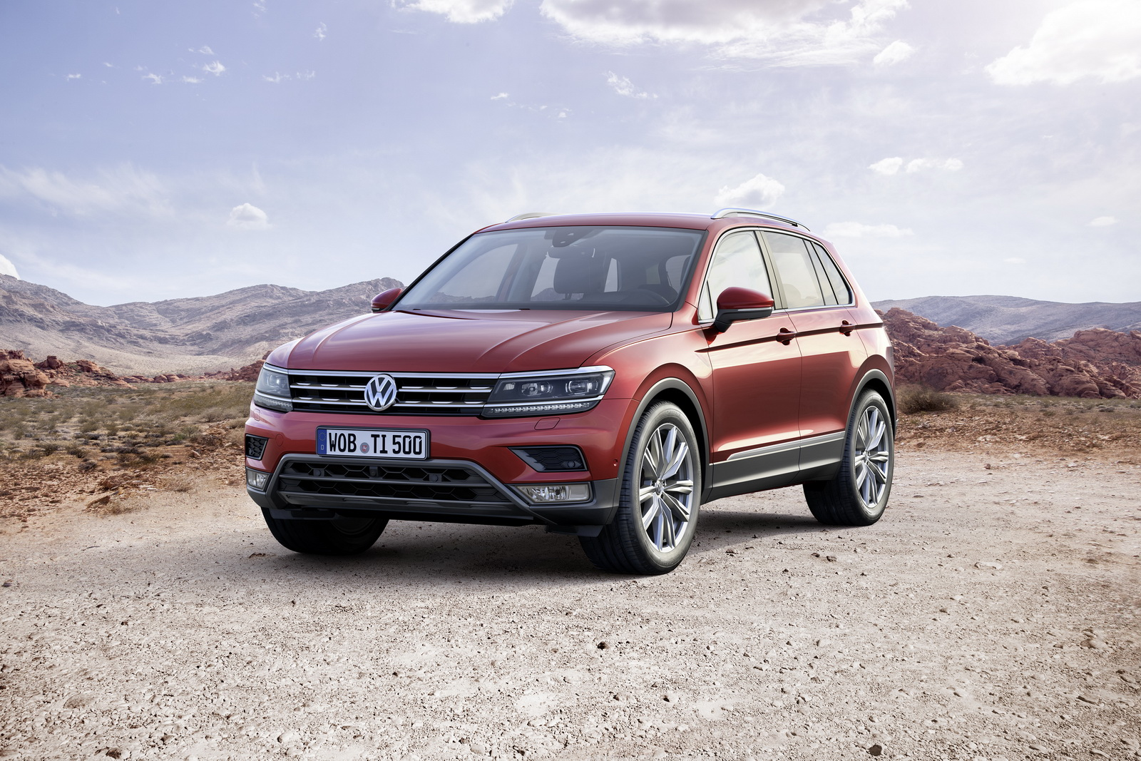 vw opens order books for new tiguan suv w video carscoops. Black Bedroom Furniture Sets. Home Design Ideas
