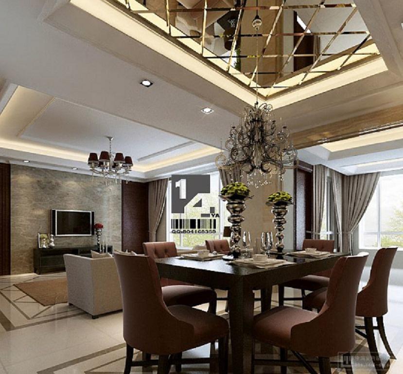 43 modernos y elegantes decoraci n comedores 2013 for Comedores grandes modernos