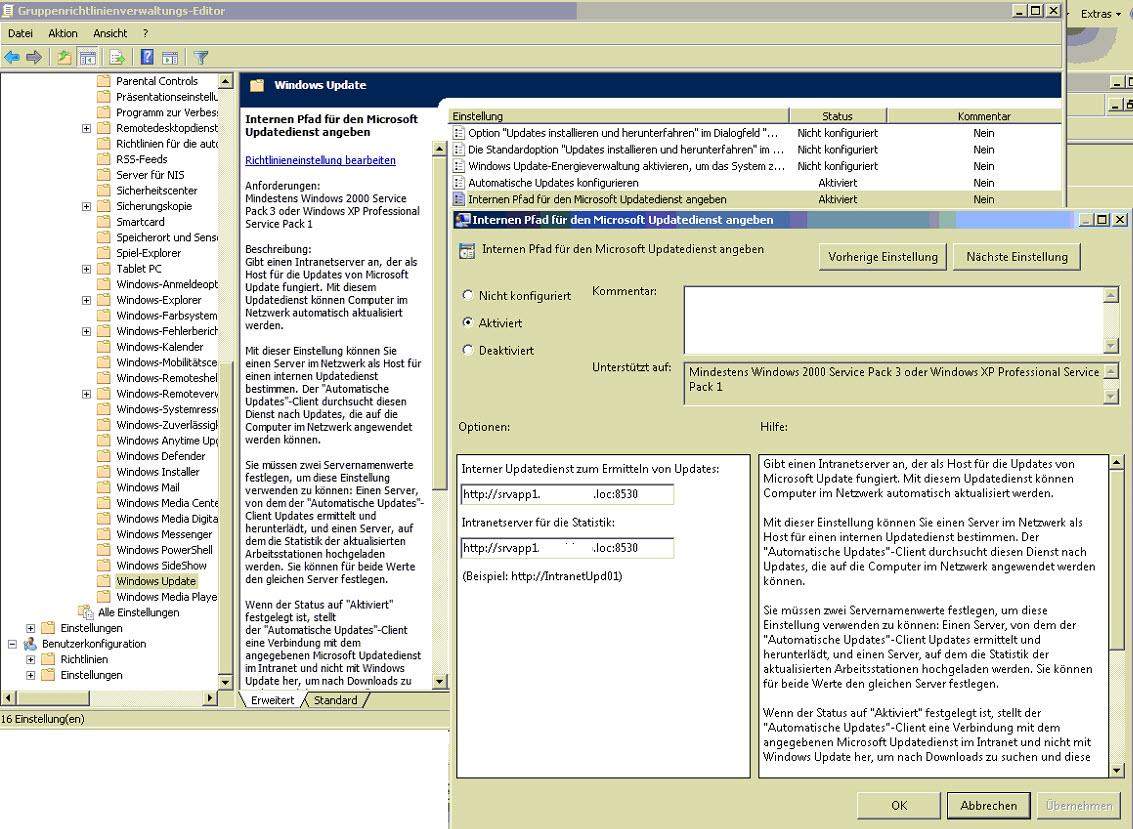 Gemütlich Administrative Vorlagen Für Gruppenrichtlinien ...