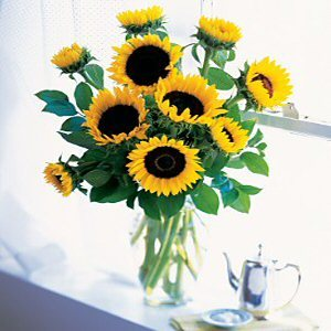Order Sunflowers for A Fall Day