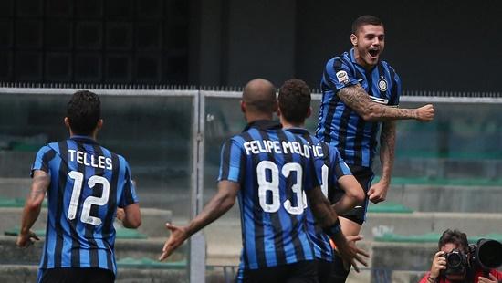 Chievo 0 x 1 Internazionale - Campeonato Italiano(Calcio) 2015/16