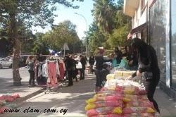 Επιτυχημένη εκδήλωση διανομής τροφίμων στην Λάρνακα (φωτορεπορτάζ)