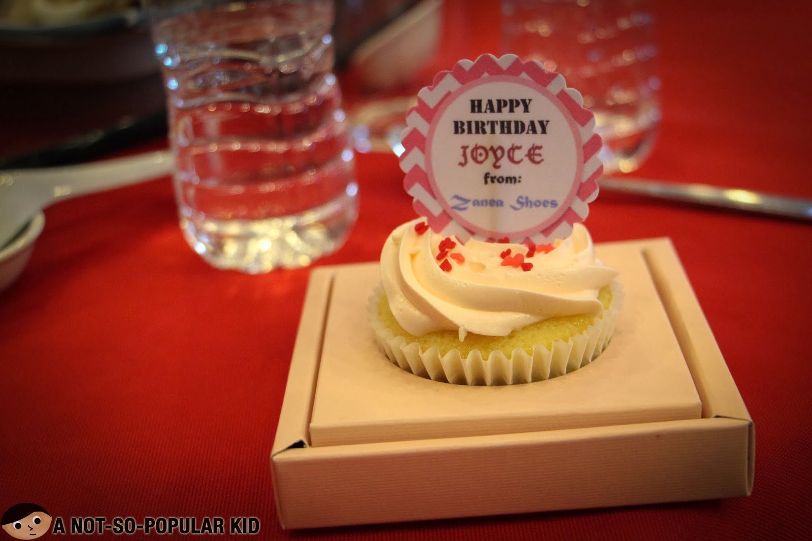 A Cupcake for the Birthday Girl , Joyce Ching! Happy 19th Birthday!