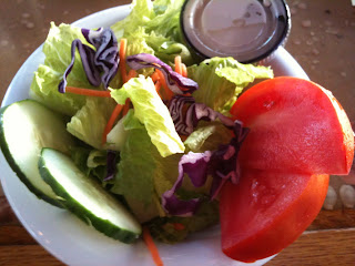 Dockside Restaurant and Marina Side Salad