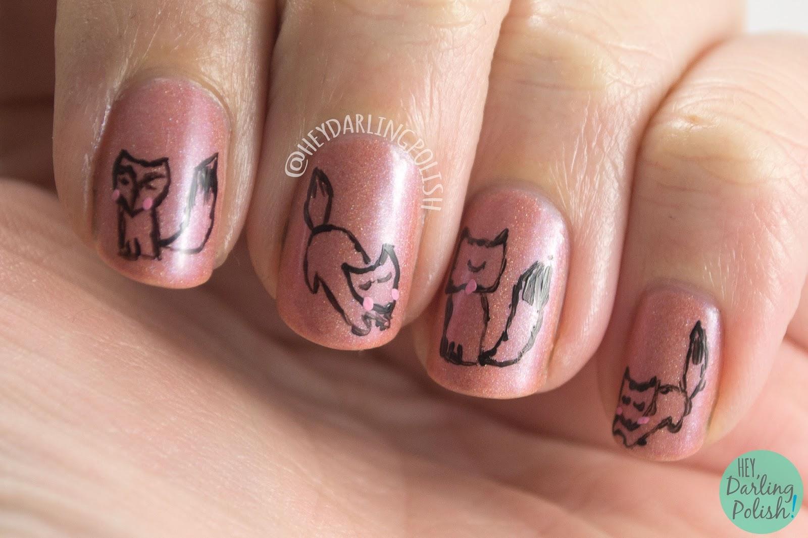 Hey, Darling Polish!: The Nail Challenge Collaborative: Animals - #1