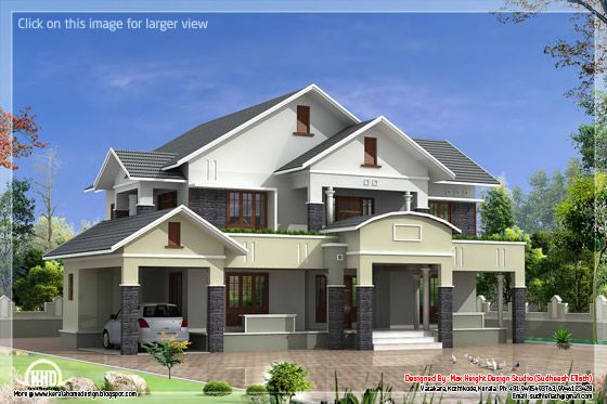 4 bedroom house elevation