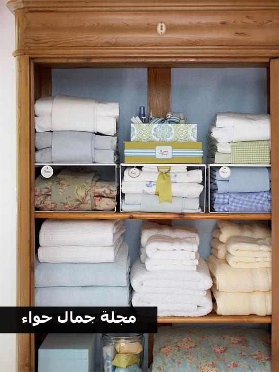 بالصور: أفكار أنيقة لترتيب وتنظيم مستلزمات وأدوات الحمام