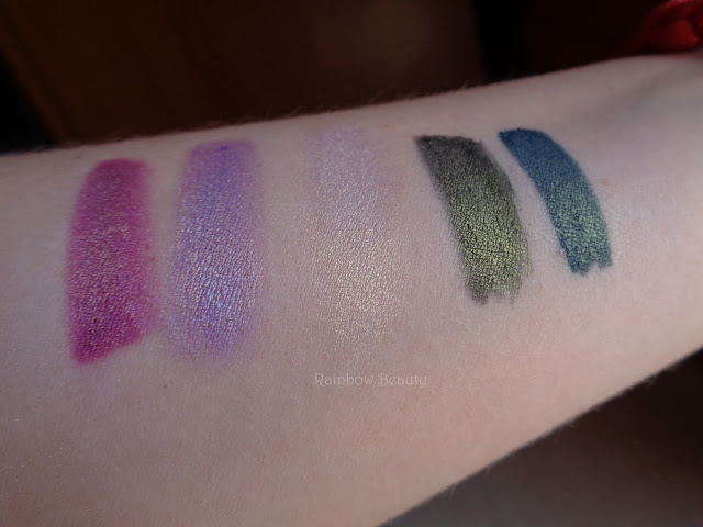 butterfly valley nabla cosmetics clementine pegasus babylon lilac wonder