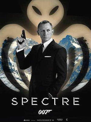 Baixar James Bond Spectre Alien Illuminati Octopus Rothschild 007 Contra Spectre   Legendado   HDTS XviD e RMVB Download