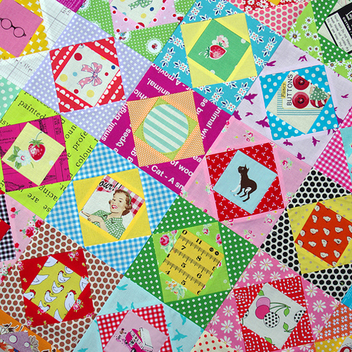 Economy+Block+Patchwork Beating the January Blues