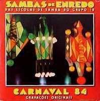 foto da capa do cd sambas de enredo 1984 grupo de acesso