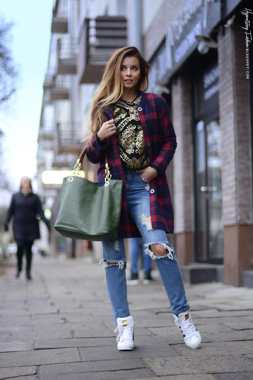 Hypnotizing Fashion Blog Modowy Stylizacje Street Style Jesienna Stylizacja Sportowa
