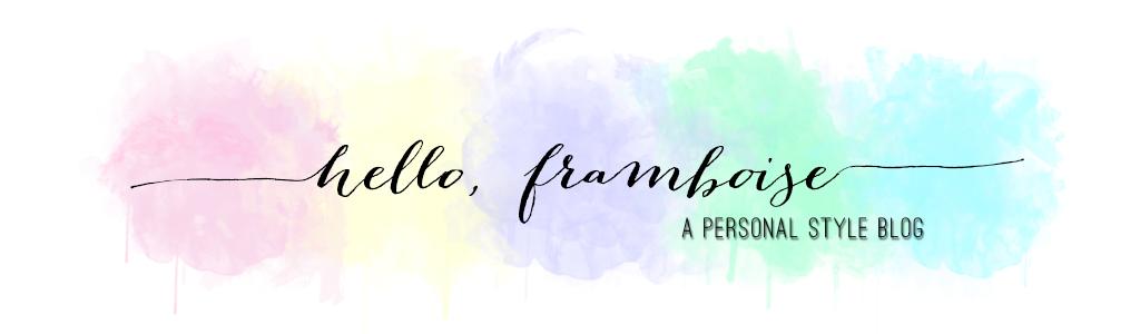 Hello, Framboise!