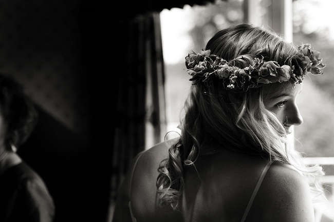 {Lillian and Leonard Wedding Photography} Flower Crown