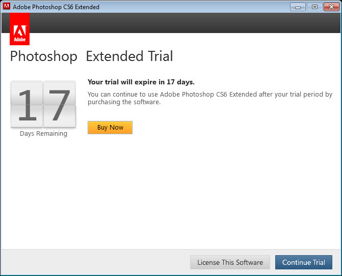 adobe photoshop cs6 extended trial