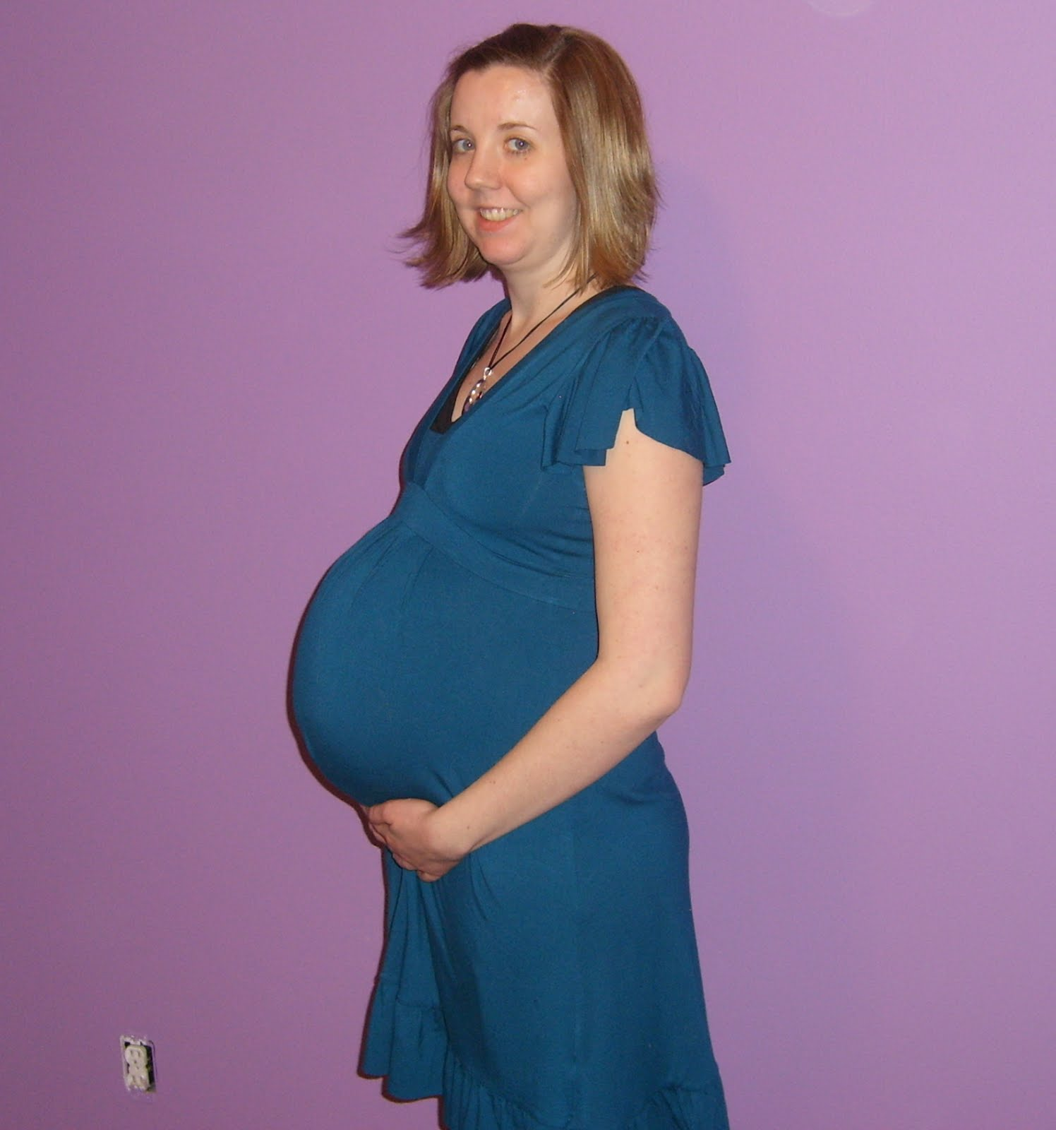 now at 33 weeks pregnant,