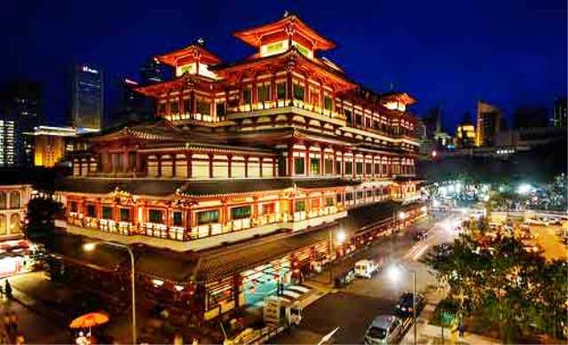 Tempat Wisata Terbaik di Singapura - Museum Dan Kuil Relik Gigi Buddha