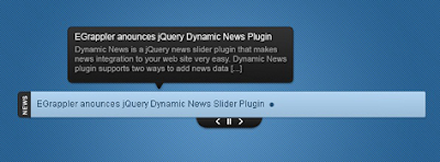 jquery slider rss news