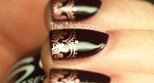 snippet copper tips - nailasaurus