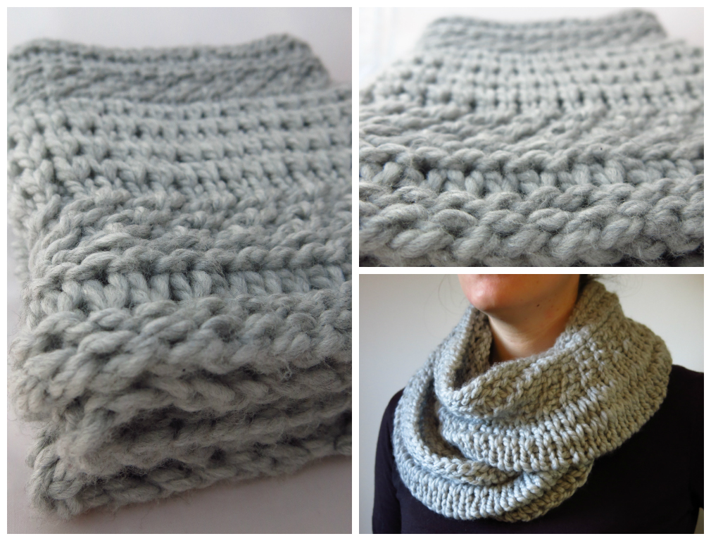 littletheorem: Quick Knits Sale and a Chunky Cowl Pattern