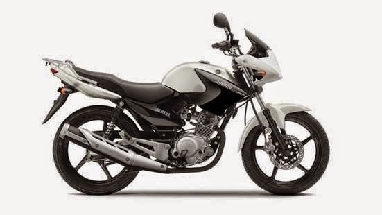Yamaha YBR125 Competition White