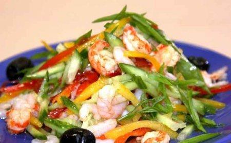 Грузинский салат. Два рецепта
