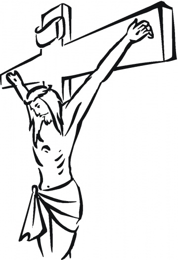 Crucifixion Coloring Pages Printable Coloring Pages