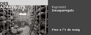 Cartell de l'exposició 'Desapareguts'