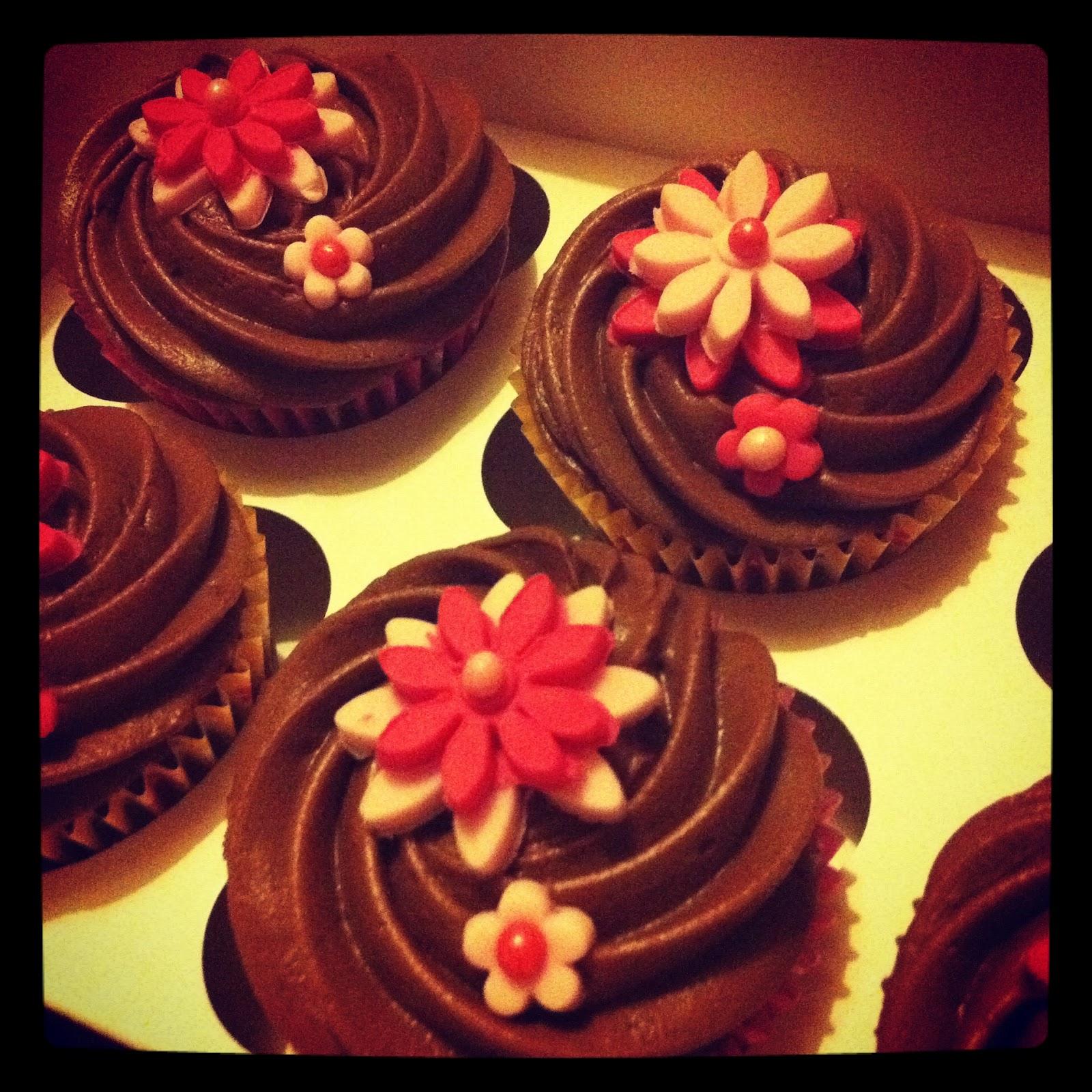 Chocolate-Orange Blossom Cake