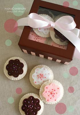 cookies de feltro - Nana Company