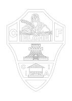 ELCHE PARA COLOREAR