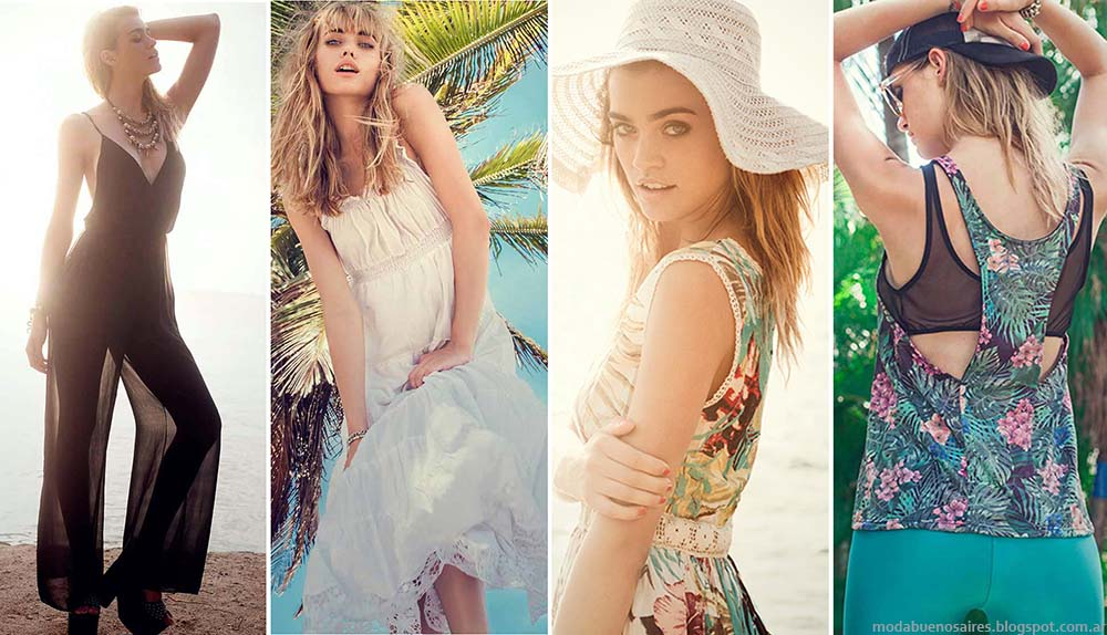 Sweet verano 2015 ropa de mujer. Moda 2015.