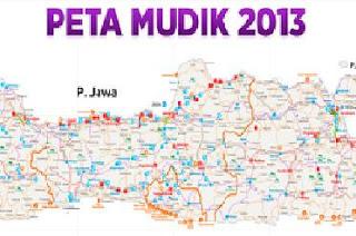 Download Peta Mudik 2013