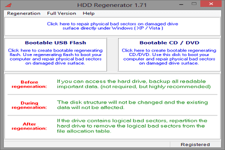 Download HDD Regenerator Full Version Terbaru